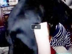 Grosse scene de baise animal